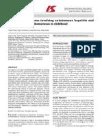 Autoimmune Hepatitis