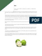 Guava as Medication