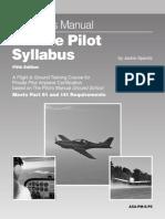 The pilot manual -private pilot syllabus