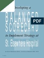 Balanced Scorecard StElse