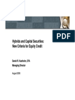 Hybrids and Capital Securities, Fitch 2006