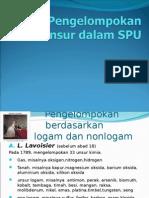 Pengelompokkan Unsur Pada SPU - Anorganik 1
