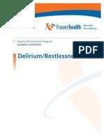 07 f h Symptom Guidelines Delirium