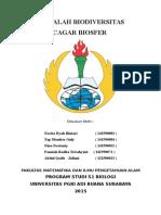 MAKALAH CAGAR BIOSFER