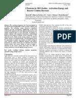 Catalytic Cracking of Pentenes in MFI Zeolite