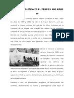 Violencia Política en El Perú en Los Años 80 (1)