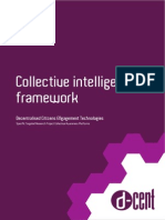 Collective Intelligence Framework in Networked Social Movements