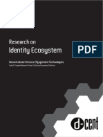 D-CENT - Research on Digital Identity Ecosystems
