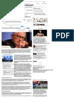 """Henry Kissinger_ """"Ordinea Mondială Nu Mai Există"""" _ Adevarul"""
