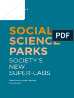 Social Science Parks - Society's New Super Labs