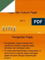 Pajak Dan Hukum Pajak_bab 2