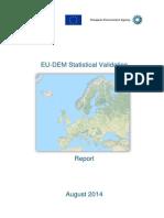 Report EU DEM Statistical Validation August2014