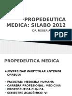 Propedeutica Medica