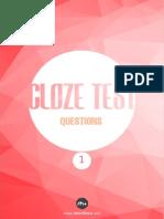 Cloze Test Soruları 1