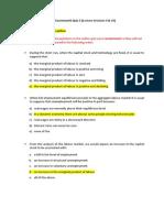Quiz 1 - Microeconomics Pindyck and Rubinfeld MCQ questions
