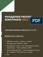 MPK - 01 Proyek