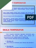 Konsep Temperatur