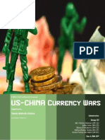 US-China Currency Wars