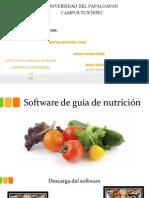 Software de Guía de Nutrición