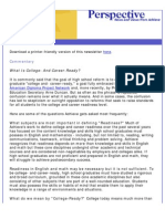 Achieve's May 2009 Perspective Newsletter