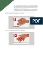 Cuci Tangan 7 Langkah Merupakan Cara Membersihkan Tangan Sesuai Prosedur Yang Benar Untuk Membunuh Kuman Penyebab Penyakit