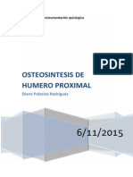 Osteosíntesis de Humero