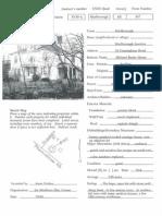 Framingham Road--In the Marlborough Historic Property Survey