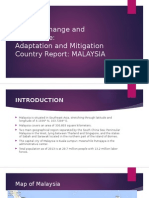 AARDO Climate Change Malaysia Country Paper
