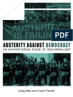 Austerity Against Democracy
