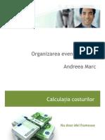 Organizarea Evenimentelor Andreea Marc