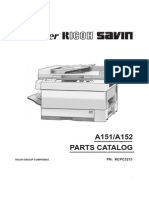 Parts Catalog´s Ricoh FT3212