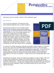 Achieve's March 2009 Perspective Newsletter