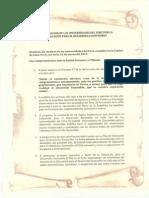 Declaración de La Universidades Para El Desarrollo Sostenible