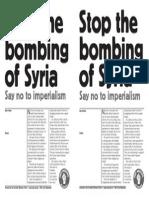 Stop Bombing Syria Swp Mtg