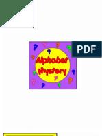 Alphabet Mystery (Capital Letters)