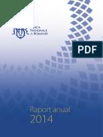 Raport Anual 2014 BNR