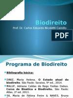 Biodireito - Slide 1 Bioética, Princípios, Teorias do Início da Vida, Clonagem Terapêutica).pptx
