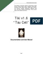 Tiki Documentation and user manual