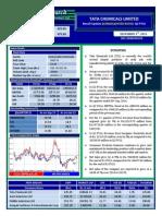 Tata Chemicals   Firstcall 04 Dec 2015