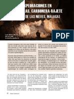 Nuevas exploraciones en la zona de Turquillas (Sierra de las Nieves)(AS26)