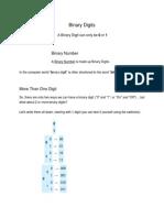 9  binary digits