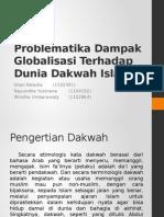 Spai - Problematika Dampak Globalisasi Terhadap Dunia Dakwah Islam