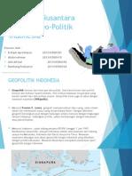 Wawasan Nusantara Sebagai Geo-Politik Indonesia