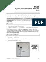 1396_08798 ZPrinter 310 Flow Rate Test