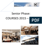 S4-6 Course Information Booklet (2015-16)