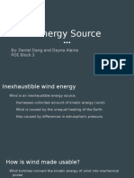 wind energy presentation