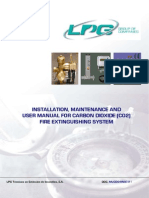 LPG carbon dioxide fire suppression system installation manual .