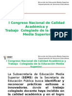 I Congreso de Calidad Educativa_Final