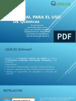 Manual para la aplicacion de QClinicas