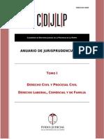 Anuario de Jurisprudencia 2014 - Tomo 1